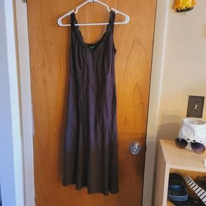 united colors of benetton linen dress NWT